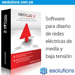 REDCAD - Diseño de redes de media y baja tensión