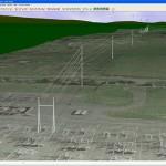 Recorrido en 3D de una Línea de Transmisión usando PLSCADD y Google Earth