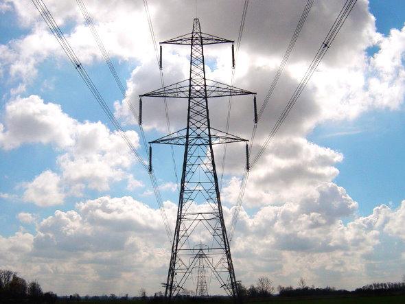 Torres de alta tensión