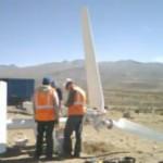 Instalación de turbinas eólicas de 3kW