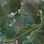Perú: Avance del proyecto de la Línea 220kV Moyobamba-Iquitos (507km)
