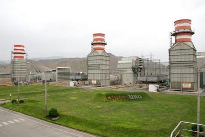 Central térmica en Chilca de EnerSur