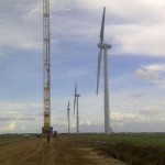 Fotos del Montaje del Parque Eólico La Guajira 75MW