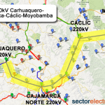 Perú: Se iniciará la obra de Línea 220kV Carhuaquero-Cajamarca Norte-Cáclic-Moyobamba
