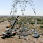 Aumento del cuerpo de una torre de 500kV para cumplir DMS