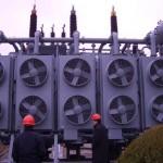 Ampliación de la capacidad de los transformadores con ventilación forzada