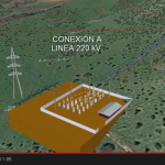 Linea de transmision 220 kv, S/E Elevadora y tap off PLS CADD, PLS POLE, Autocad, y G.E.