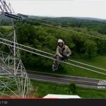 Mantenimiento de Líneas de transmisión en helicoptero