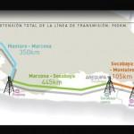 Perú: ProInversión adjudicó línea de transmisión Mantaro - Montalvo a empresa ISA
