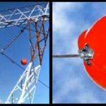 ¿Para qué sirven las esferas de los cables de alta tensión?