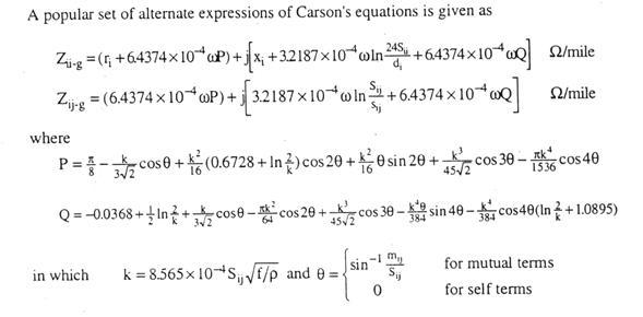 ecuacion carson