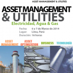 Perú: 5º Global Workshop Internacional ASSET MANAGEMENT & UTILITIES (ELECTRICIDAD, AGUA Y GAS)