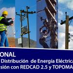 Perú: 24 y 25 May-Curso Profesional de Diseño de Redes MT/BT con REDCAD y TOPOMAGIC