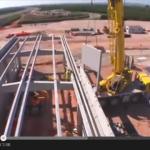 Proceso de construcción de una subestación de potencia