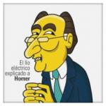 """Las ocho preguntas sobre el """"lío eléctrico"""" español y las respuestas de los Simpson"""
