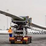 Palas del rotor más grandes del mundo para aerogeneradores