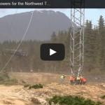 Video: Montaje de torres para línea de transmisión usando helicóptero