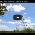 Video: Instalación y montaje de una torre de celosía de 80m, para 345kV, asistido con helicóptero