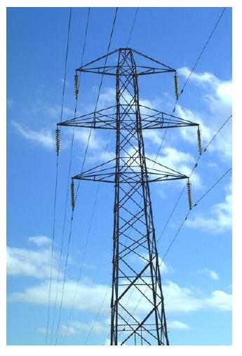 Figura 1.12 Torre de suspensión de doble terna