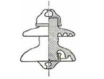 Figura 1.9 Aislador tipo campana
