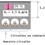 Cálculo de sección por intensidad admisible. Ejemplo de aplicación de coeficientes de corrección