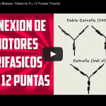 Video: Conexión de Motores Trifásicos de 9 y 12 Puntas