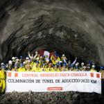 Perú: Hidroeléctrica Chaglla culmina excavación de túnel de aducción