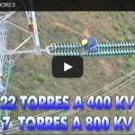 Video: Lavado de aisladores de líneas de transmisión