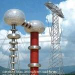 Aisladores de nucleo hueco usados para transformadores AC (2250kV, 2A)