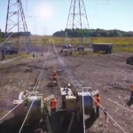 Video: Montaje de una línea de transmisión