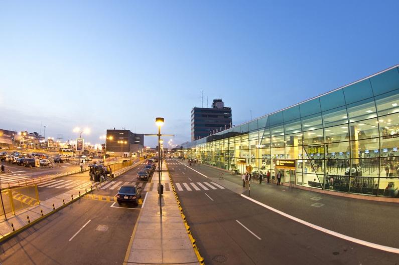 jorge chavez aeropuerto