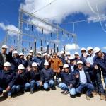 Perú: Innauguración de la Línea de Transmisión Machupicchu – Abancay – Cotaruse en 220 kv en Apuríma...
