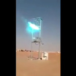 Video: Impresionante arco eléctrico viajero