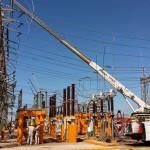 Cambio de cuchillas en el patio de 115 kV en Cd. Obregon Sonora, CFE Equipo de subestaciones, México