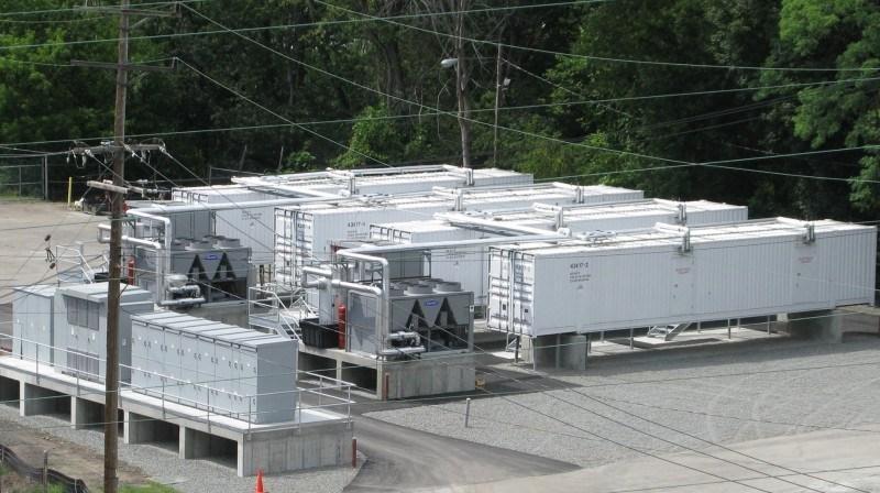 Proyecto Johnson City, un sistema de alamacenamiento de energía de 8 MW en Nueva York.