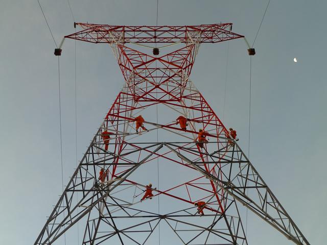 proteccion contra corrocion de torres electricas