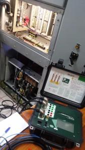 Ensayo a Interruptor Extraíble 34.5 kV.