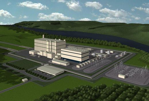 La planta nuclear de TerraPower se podría alimentar de un reactor de ondas progresivas o de un reactor de sal fundida.
