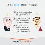 Pregunta del día: ¿Edison despidió a Tesla de su empresa?