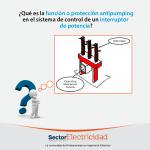 Pregunta del día: ¿Qué es la función o protección antipumping en el sistema de control de un interru...