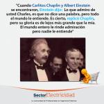 Cuando Carlitos Chaplin y Albert Einstein se encontraron...