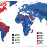 ¿Por qué unos países usan un voltaje domiciliario de 110v y otros de 220v?