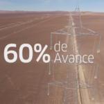 Chile: Interconexión eléctrica de los sistemas Norte y Centro en 60% de avance
