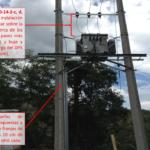 Colombia: Inspección RETIE en subestación tipo poste 150kVA