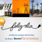 Feliz día del electricista