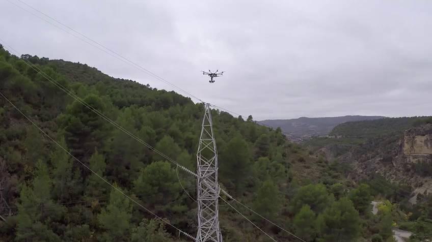 El dron que evita apagones