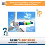 Pregunta del día: ¿Por qué la mayoría de los aerogeneradores utilizan generadores asíncronos?
