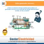 Pregunta del día: Sobre el generador síncrono...