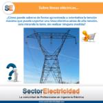 Pregunta del día: Sobre líneas eléctricas...