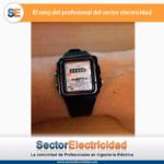 El reloj del profesional del sector electricidad